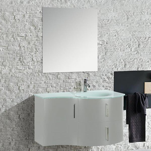 Mobile-arredo-bagno-moderno-Kursal-sospeso-bianco-(destro)