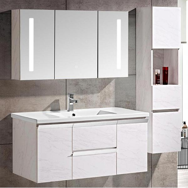 Mobile-bagno-Venice-Stone-bianco-+-colonna-d'arredo