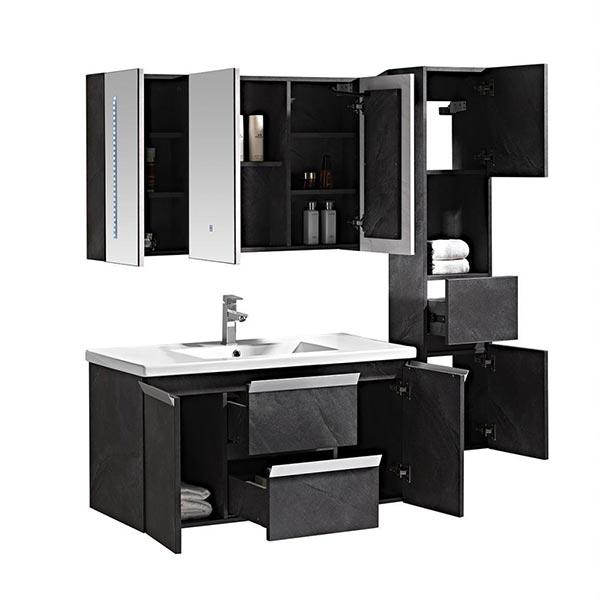 Set-mobile-bagno-Venice-Stone-grigio-antracite-+-colonna-3