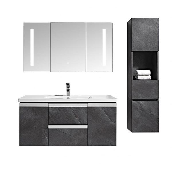 Set-mobile-bagno-sospeso-Venice-Stone-grigio-antracite-+-colonna-2